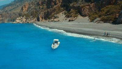 Private Boat Trips Chania Sfakia Domata