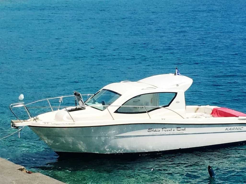 Rent a boat Chania_Notos_Mare_Rent_A_Boat_Chania_Sfakia_165hp