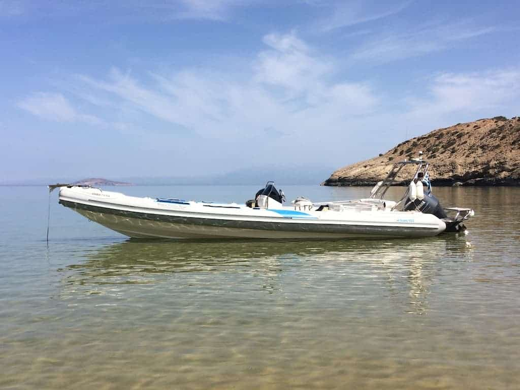 Rent a boat Chania_Notos_Mare_Rent_A_Boat_Chania_Sfakia_250hp