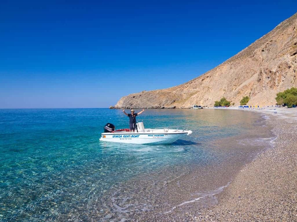 Rent a boat Chania_Notos_Mare_Rent_A_Boat_Chania_Sfakia_80hp
