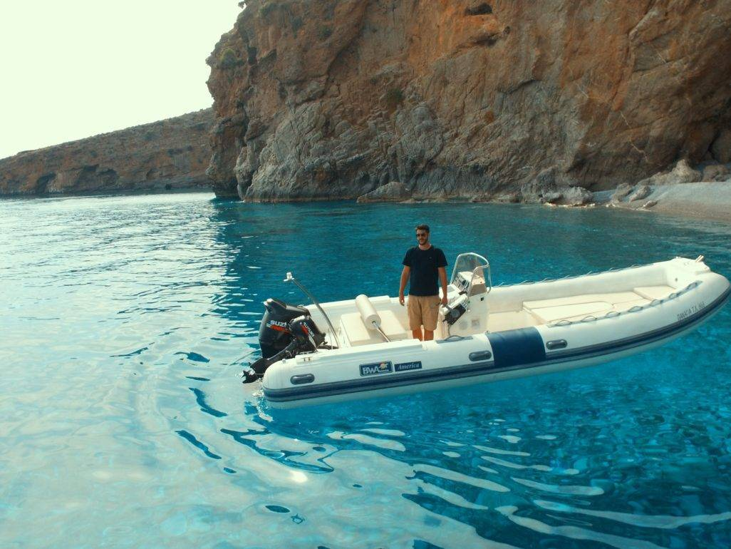 Rent a boat Chania_Notos_Mare_Rent_A_Boat_Chania_Sfakia_140hp