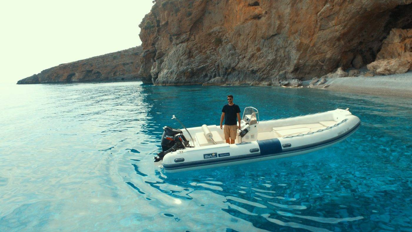 Rent a boat Chania_Notos_Mare_Rent_A_Boat_Chania_Sfakia