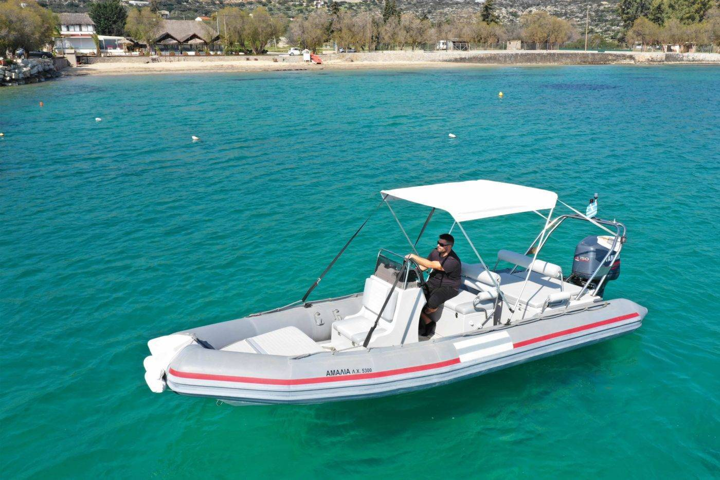 Rent a boat Chania_Notos_Mare_Rent_A_Boat_Chania_Marathi_Sfakia_150hp